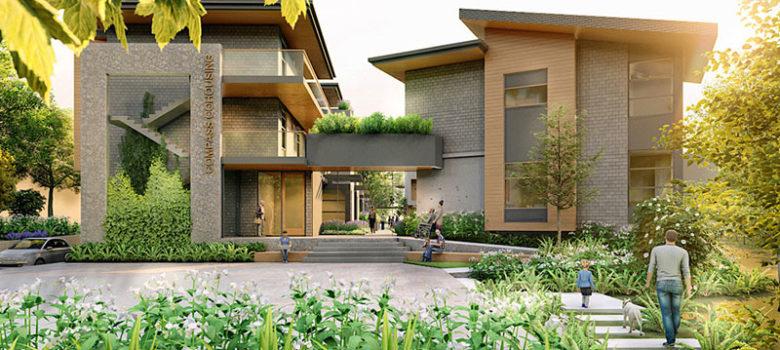 Compass Cohousing Rendering
