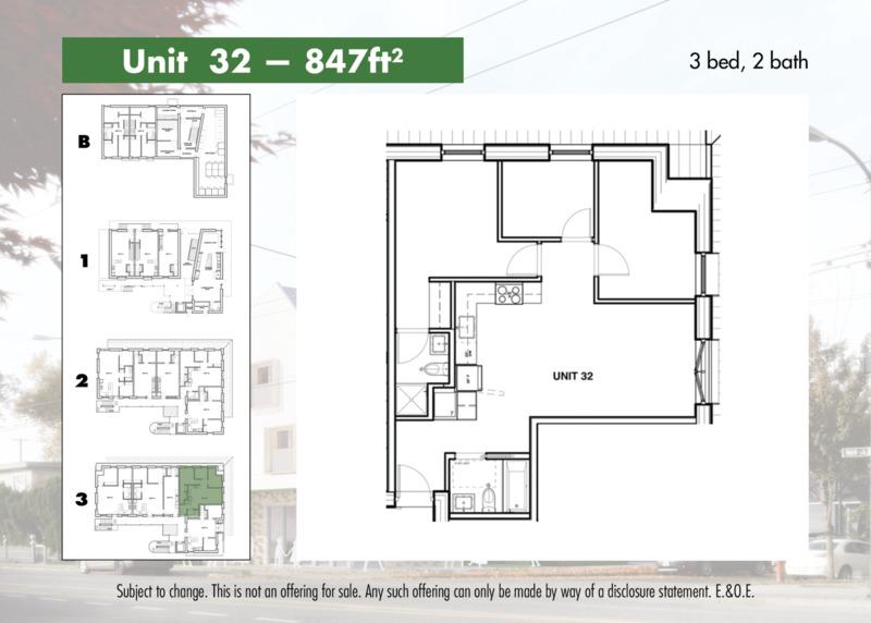Unit 32 Layout