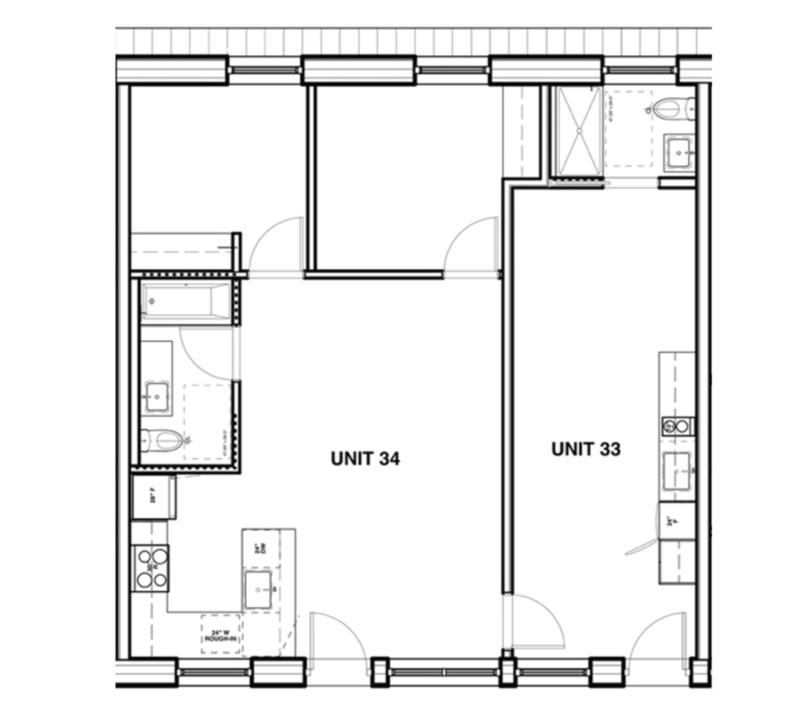 2 bedroom and lock off suite floor plans